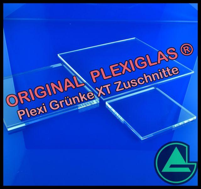 acrylglas plexiglas xt klar zuschnitt platte 2 3 4 5 6 8 10 12 15 20 25 mm ebay. Black Bedroom Furniture Sets. Home Design Ideas