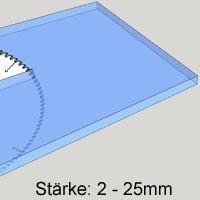 Acrylgas Platten farblos zuschnitt